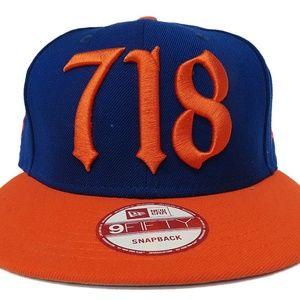 New Era 718 'New York Mets' Adjustable Snapback